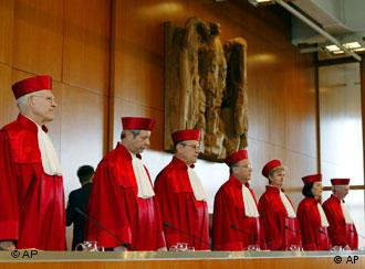The First Senate of the Constitutional Court
