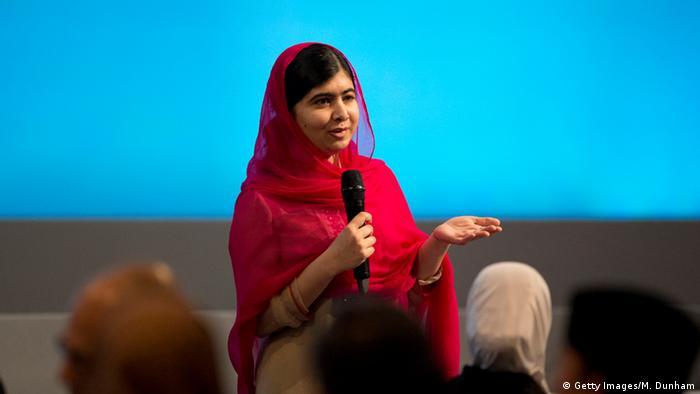 Großbritannien Syrien Geberkonferenz in London Malala (Getty Images/M. Dunham)
