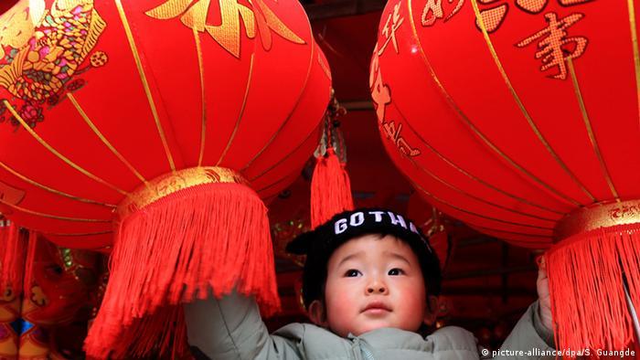 China Frühlingsfest in Shexian