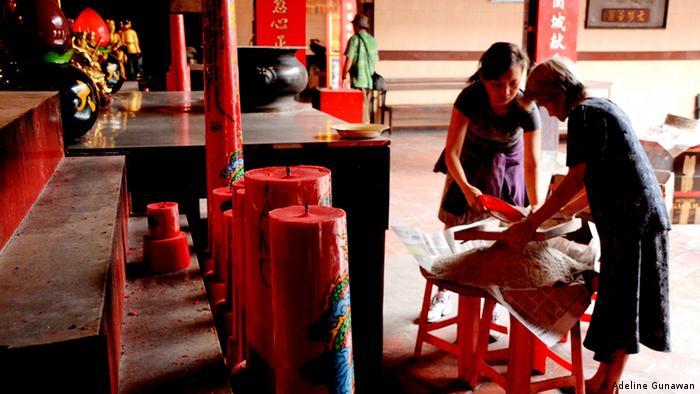 Indonesien Vorbereitungen chinesisches Neujahr