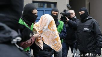 Police raid in Berlin