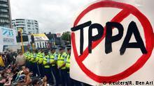 Neuseeland Proteste gegen TPP Handelsabkommen