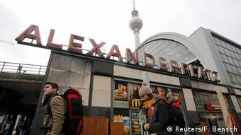 Deutschland Razzia gegen Islamisten angeblich Anschlag auf Alexanderplatz geplant