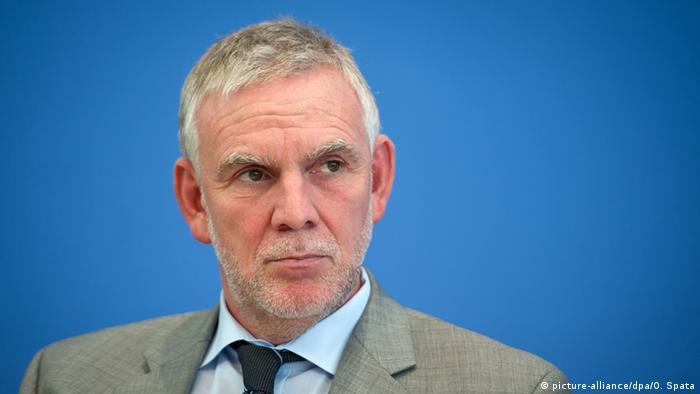Jochen Flasbarth Präsident des Umweltbundesamtes (picture-alliance/dpa/O. Spata)