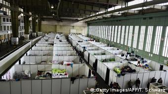 Refugee shelterTempelhof Berlin (Getty Images/AFP/T. Schwarz)
