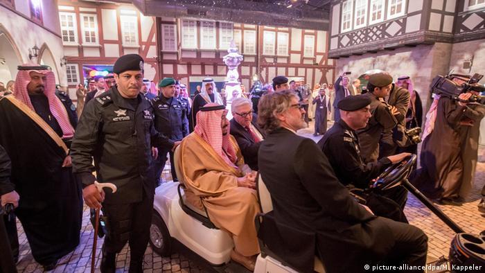Saudi-Arabien Steinmeier zu Besuch in Riad mit König Salman