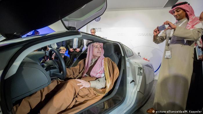Saudi-Arabien Steinmeier zu Besuch Al-Dschubeir Stand von VW