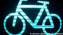 Greenlight bicycle (picture-alliance/dpa/F. Gentsch)