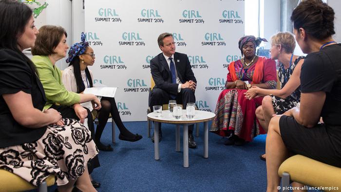 Weibliche Genitalverstümmelung Girl Summit 2014 in London