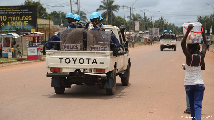 UN Soldaten in Bangui (picture-alliance/AA)