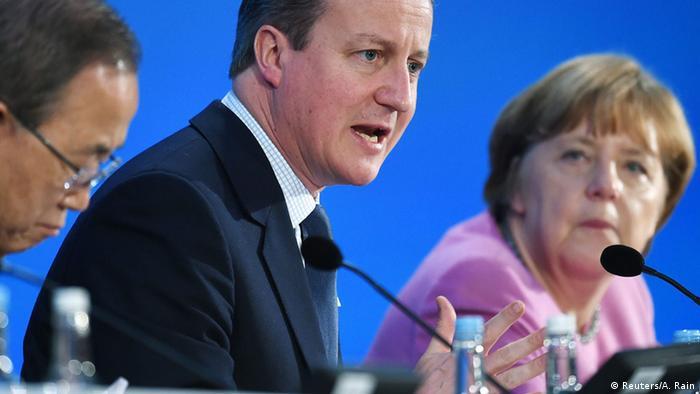 Großbritannien Syrien Geberkonferenz