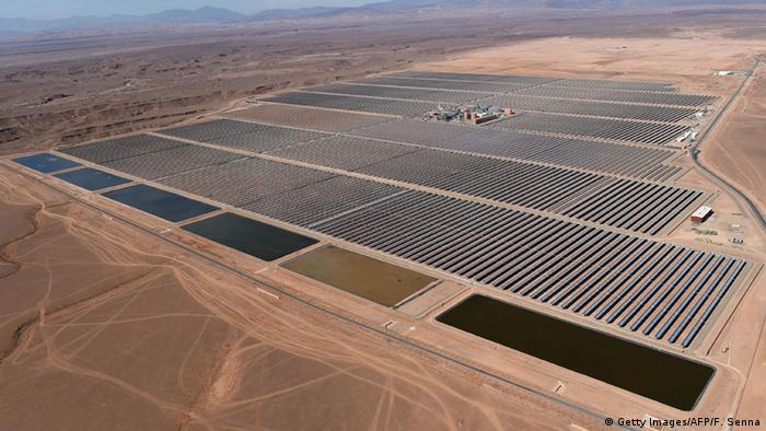 Marokko, Kraftwerk Noor 1 eröffnet