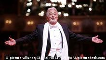 Wiener Opernball 2016 Placido Domingo Opernsänger