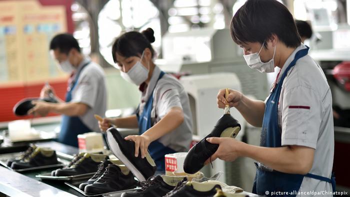 China Schuhfabrik Fabrik Herstellung Schuhe
