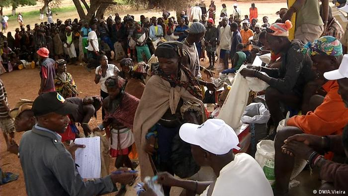 Dürre in Angola Bevölkerung