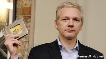 Julian Assange London Botschaft Ecuador