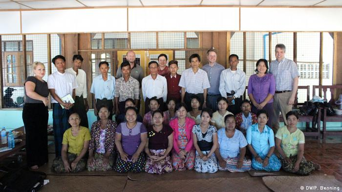 Support for community media in Myanmar (photo: P. Benning)
