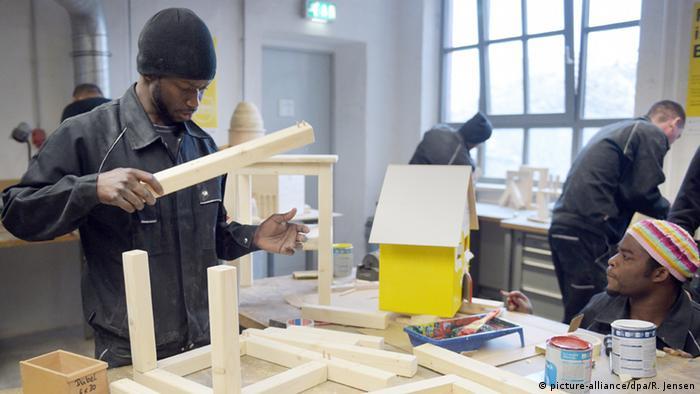 Deutschland Flüchtlinge Handwerk Ausbildung Symbolbild