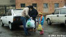 Ukraine humanitäre Hilfe durch Ehrenamtliche