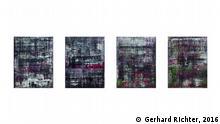 Deutschland Gerhard Richter Ausstellung in Baden-Baden