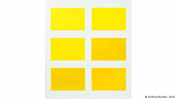 Yellow rectangles as far as the eye can see