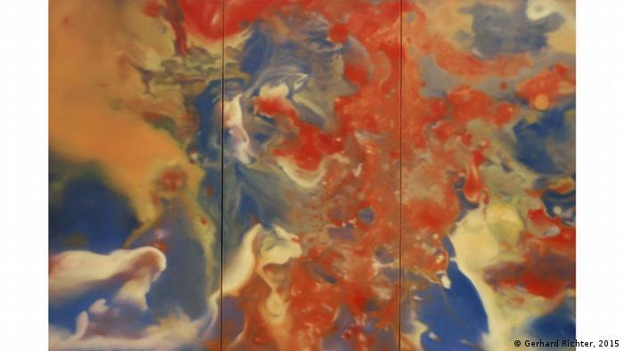 Das Gemälde Ausschnitt (Gerhard Richter, 2015)
