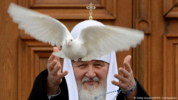 Russlands Patriarch Kyrill, Oberhaupt der Orthodoxen Kirche (Foto: Getty Images)