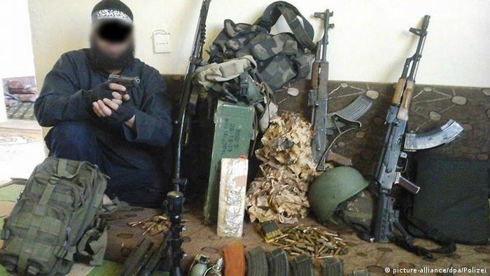 Deutschland Razzia angeblicher Kopf der Terrorzelle 34-jähriger Algerier