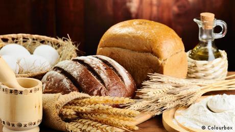 Symbolbild Brot und Korn