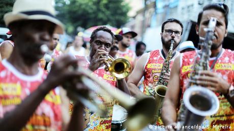 Carnaval de rua em São Paulo