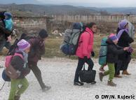 Sve više djece na Balkanskoj ruti