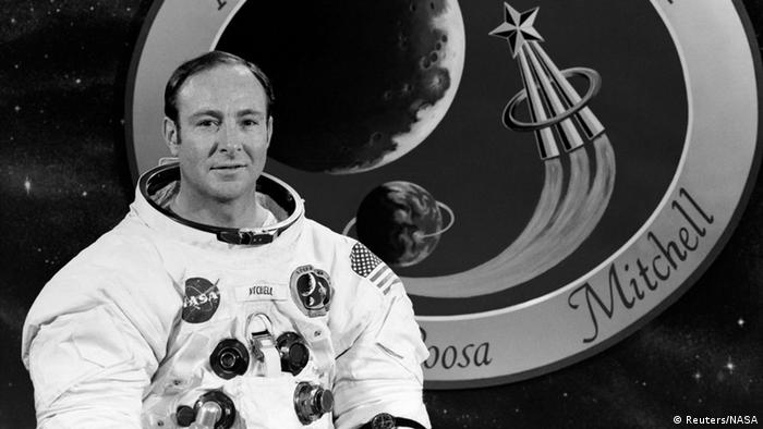 NASA Astronaut Edgar Mitchell