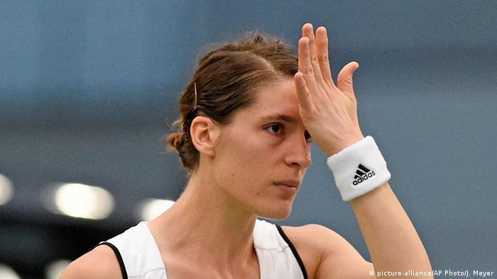 Die deutsche Tennisspielerin Andrea Petkovic