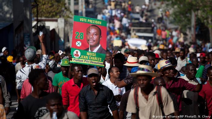 Haiti Einigung auf Übergangsregierung