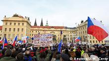 Pegida Demonstration in Prag