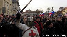 Pegida Demonstration in Prag