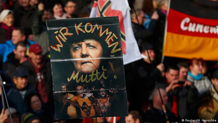 Pegida Demonstration in Dresden (Reuters/H. Hanschke)