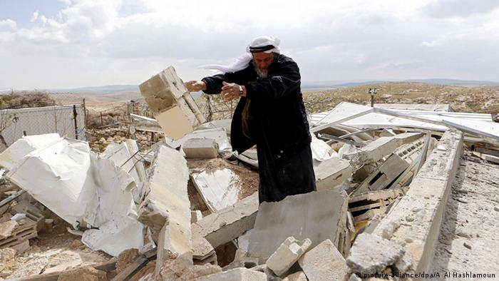 The UN chief also decried the demoltions in January