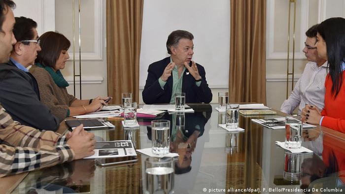 Kolumbien Juan Manuel Santos Gespräche Zika Gesundheit