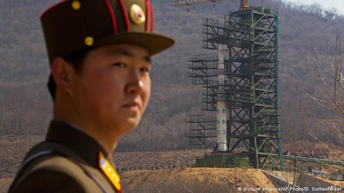 Военный в Северной Корее (фото из архива)