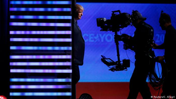USA Wahlkampf TV Debatte New Hampshire Republikaner (Reuters/C. Allegri)