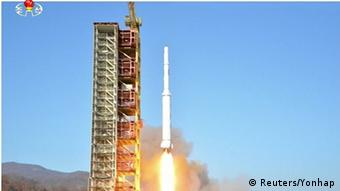 North Korea tested yet another long-distance rocket on Februry 7