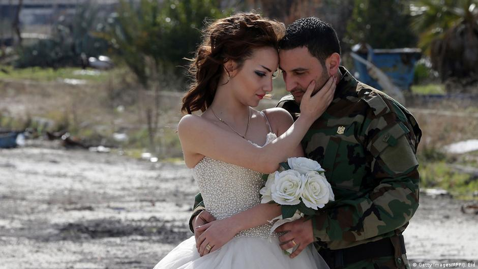 Syria Wedding Photos Not All They Seem World Breakings News And Perspectives From Around The Globe Dw 16 02 2016