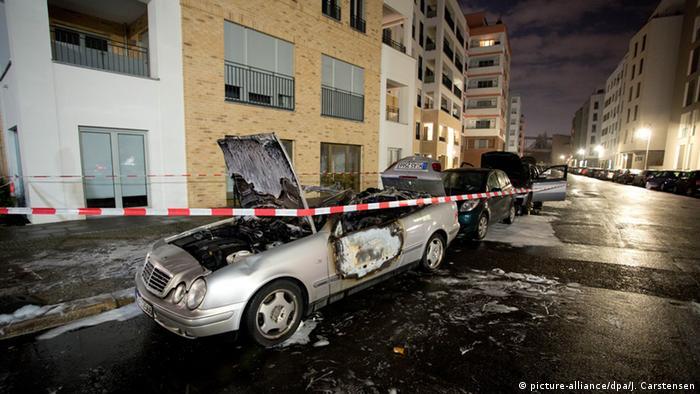Dozens of cars in Berlin set on fire