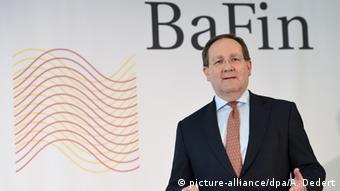 Феликс Хуфельд, глава регулятора BaFin
