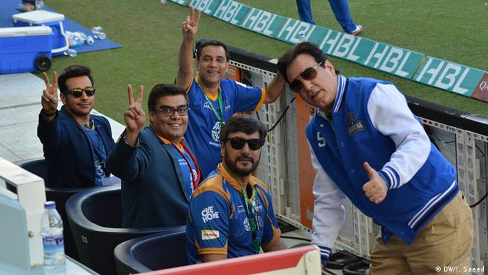 Pakistan Super League (DW/T. Saeed)