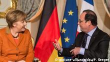 Merkel und Hollande treffen sich informell in Straßburg