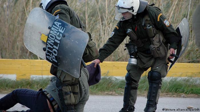 Griechenland Proteste gegen Flüchtlings-Hotspot