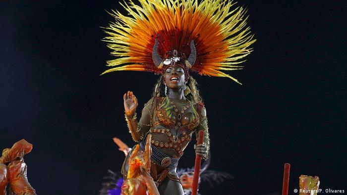 Brasilien Karneval in Rio 2016