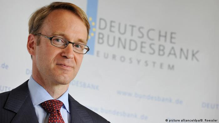 Bundesbank chief Jens Weidmann (picture alliance/dpa/B. Roessler)